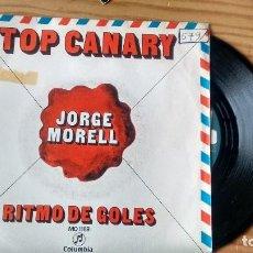 Discos de vinilo: SINGLE (VINILO) DE JORGE MORELL AÑOS 70. Lote 106548903
