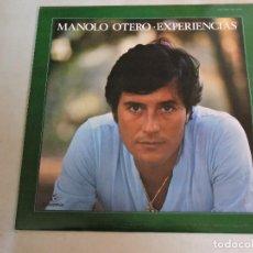 Discos de vinilo: MANOLO OTERO - EXPERIENCIAS LP 1980 SPAIN PROMO. Lote 106549143