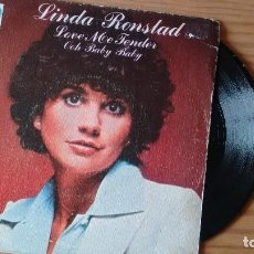 Discos de vinilo: SINGLE (VINILO) DE LINDA RONSTAD AÑOS 70. Lote 106549191