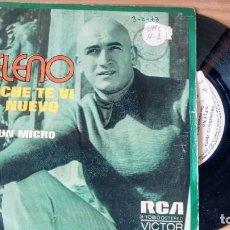 Discos de vinilo: SINGLE (VINILO) DE HELENO AÑOS 70. Lote 106549267
