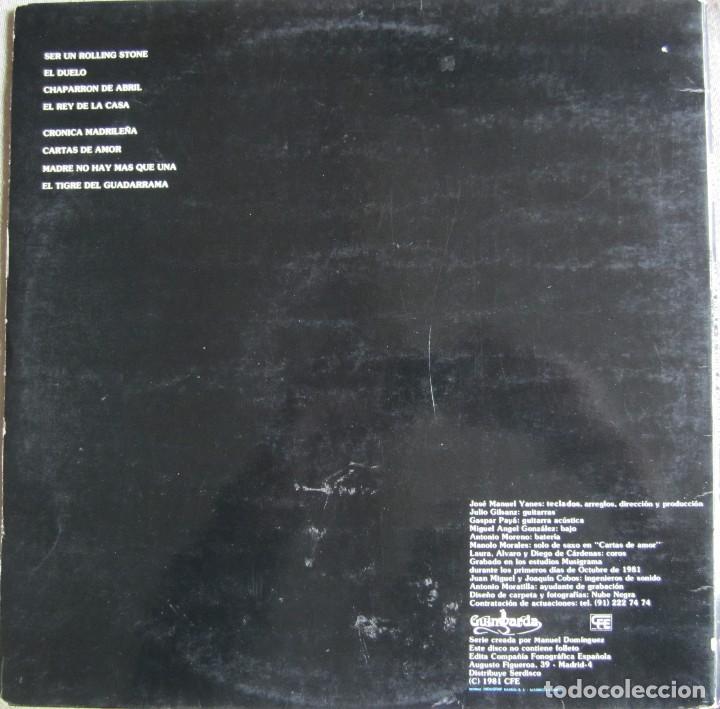 Discos de vinilo: VAINICA DOBLE: EL TIGRE DE GUADARRAMA - Foto 2 - 106557839
