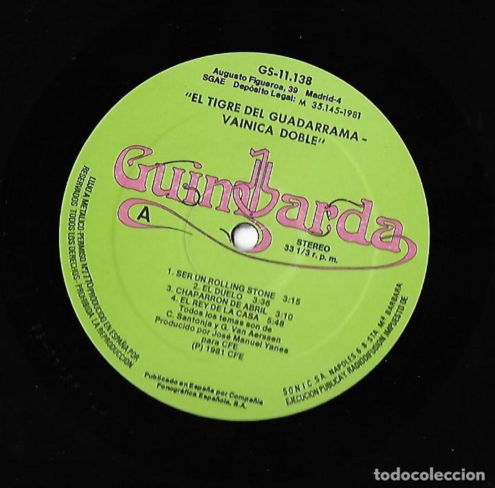 Discos de vinilo: VAINICA DOBLE: EL TIGRE DE GUADARRAMA - Foto 4 - 106557839