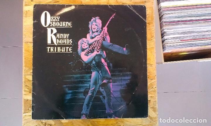 LP OZZY OSBOURNE RANDY RHOADS TRIBUTE EDICIÓN ESPAÑOLA HARD ROCK HEAVY METAL (Música - Discos - LP Vinilo - Heavy - Metal)