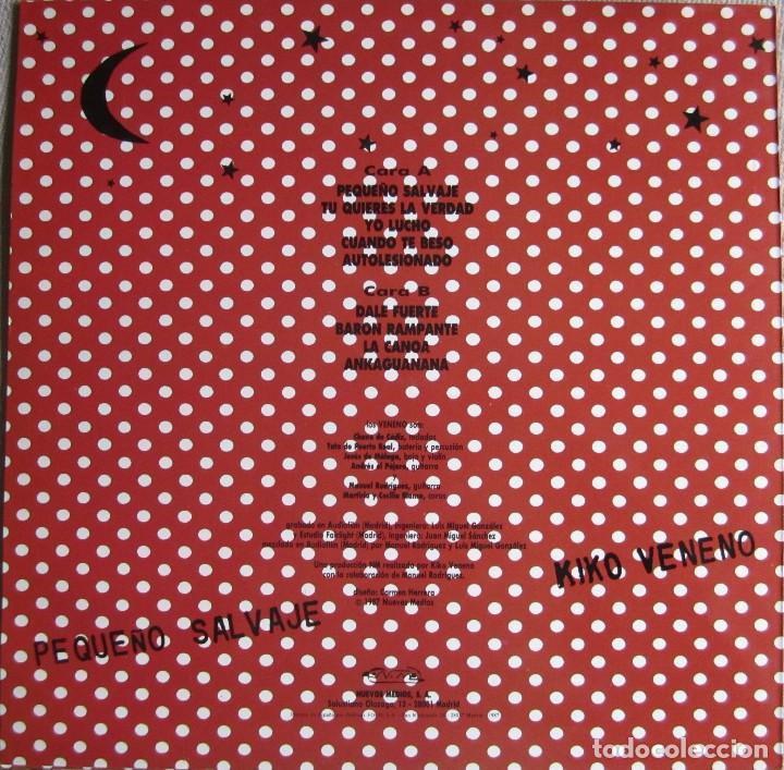 Discos de vinilo: VENENO, KIKO: PEQUEÑO SALVAJE - Foto 2 - 106560547