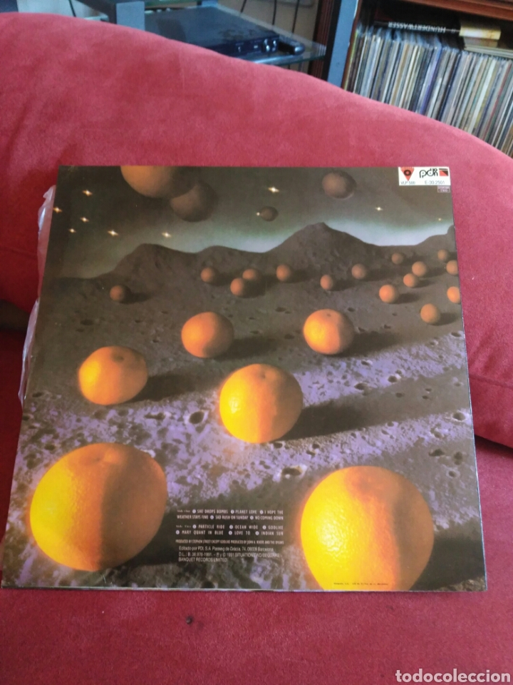 Discos de vinilo: The Dylans s/t 1991 alternative pop indie neo-psychedelia CON ENCARTE - Foto 2 - 106561994