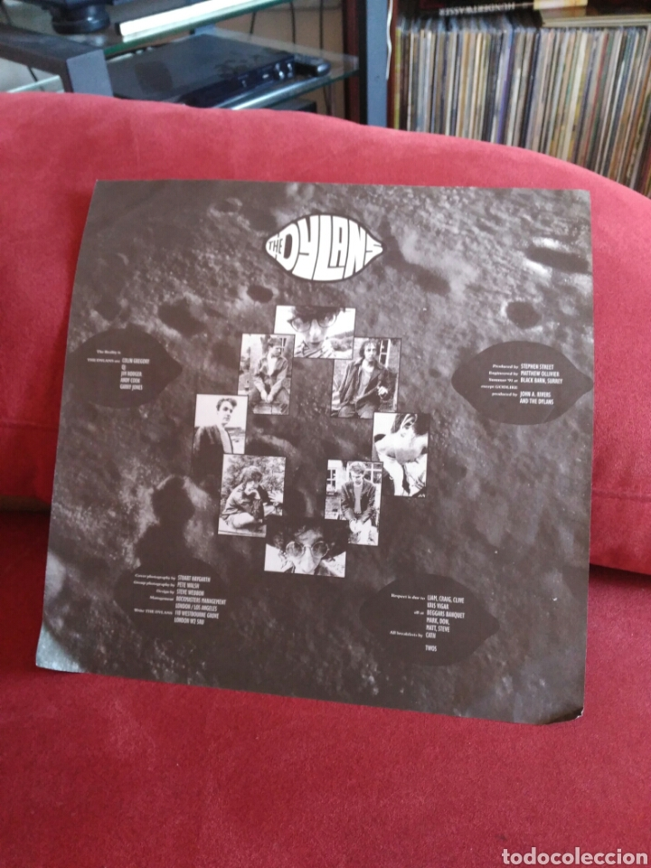 Discos de vinilo: The Dylans s/t 1991 alternative pop indie neo-psychedelia CON ENCARTE - Foto 4 - 106561994