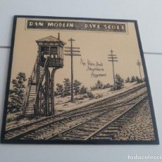Discos de vinilo: DAN MODLIN & DAVE SCOTT - THE TRAIN DON'T STOP HERE ANYMORE (LP REEDICIÓN, MANDRAX MX0803LP) NUEVO. Lote 180463177