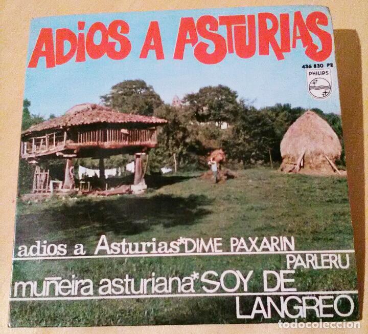 ADIOS A ASTURIAS, ROBERTO MORADO, POLIFÓNICA GIJONESA, JOSÉ BLANCO, CELESTINO RUBIERA .RADIO -NORTE (Música - Discos de Vinilo - EPs - Funk, Soul y Black Music)