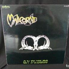 Discos de vinilo: GUINBARDA-MALICORNE EN PUBLICO (LP ) AÑO 1980-MUY BUEN ESTADO,COMO NUEVO. Lote 106569259