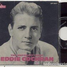 Discos de vinilo: EDDIE COCHRAN / TWENTY FLIGHT ROCK / EP 45 RPM / EDITADO POR LIBERTY. Lote 106574427
