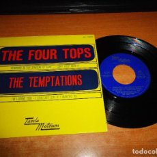 Discos de vinilo: THE FOUR TOPS STANDING IN THE SHADOW OF LOVE THE TEMPTATIONS I´M LOSING YOU EP VINILO 1967 MOTOWN. Lote 106585867