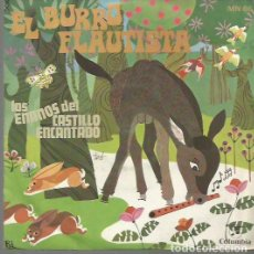 Discos de vinilo: EL BURRO FLAUTISTA (CUENTO) SINGLE SELLO COLUMBIA AÑO 1969 EDITADO EN ESPAÑA... . Lote 106588715