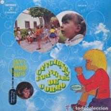 Discos de vinilo: CANCIONES INFANTILES DEL CORRO LP RONDALLA ALEGRÍA COLUMBIA 1970. Lote 106592075
