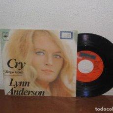 Discos de vinilo: LYNN ANDERSON 7´´ MEGA RARE VINTAGE PROMO SPANISH TITLES 1972. Lote 106598851