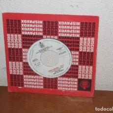 Discos de vinilo: JOAN BAEZ 7´´ MEGA RARE VINTAGE PROMO WHITE LABEL SUNG IN SPANISH 1971. Lote 106599055