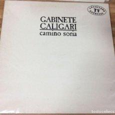 Discos de vinilo: LP GATEFOLD - GABINETE CALIGARI - CAMINO SORIA - EMI 066 7484801 - 1987. Lote 106599283