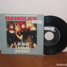 Discos de vinilo: BANGLES 7´´ MEGA RARE VINTAGE PROMO SPAIN 1987. Lote 106599291