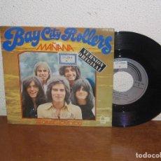 Discos de vinilo: BAY CITY ROLLERS 7´´ MEGA RARE VINTAGE SPANISH TITLES 1972. Lote 106599367