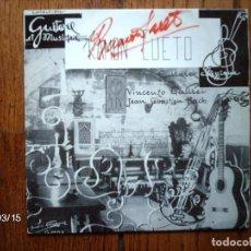 Discos de vinilo: RAMON CUETO - GUITARRA Y MUSICA (GUITARE ET MUSIQUE) - VICENZO GALILEI + J. S. BACH . Lote 106600595
