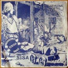 Discos de vinilo: SISA : BARCELONA POSTAL [ESP 1982]. Lote 106614883