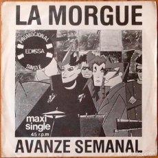 Discos de vinilo: LA MORGUE : AVANZE SEMANAL [ESP 1982] 7'. Lote 106615859