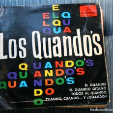 Discos de vinilo: EP - LOS QUANDO'S - EL QUANDO GITANO +3 - COLUMBIA SCGE 80.961 - 1965. Lote 106628247