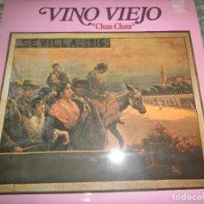 Discos de vinilo: VINO VIEJO - CHAU CHAU LP - ORIGINAL ESPAÑOL - MOVIEPLAY / GONG RECORDS 1979 - MUY NUEVO (5).. Lote 106628943
