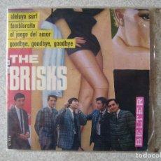 Discos de vinilo: THE BRISKS.TEMBLORCITO-ALELUYA SURF + 2...EX. Lote 106630723
