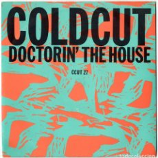 Discos de vinilo: COLDCUT FEATURING YAZZ & THE PLASTIC POPULATION - DOCTORIN' THE HOUSE - AHEAD OF OUR TIME - UK 1988. Lote 106635463