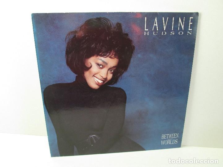 LAVINE. HUDSON. BETWEEN TWO WORLS. LP VINILO TEN RECORDS 1991. VER FOTOGRAFIAS ADJUNTAS (Música - Discos - Singles Vinilo - Jazz, Jazz-Rock, Blues y R&B)
