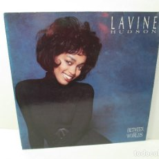 Discos de vinilo: LAVINE. HUDSON. BETWEEN TWO WORLS. LP VINILO TEN RECORDS 1991. VER FOTOGRAFIAS ADJUNTAS. Lote 106644123