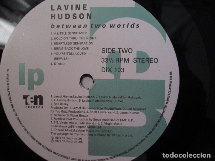 Discos de vinilo: LAVINE. HUDSON. BETWEEN TWO WORLS. LP VINILO TEN RECORDS 1991. VER FOTOGRAFIAS ADJUNTAS - Foto 6 - 106644123