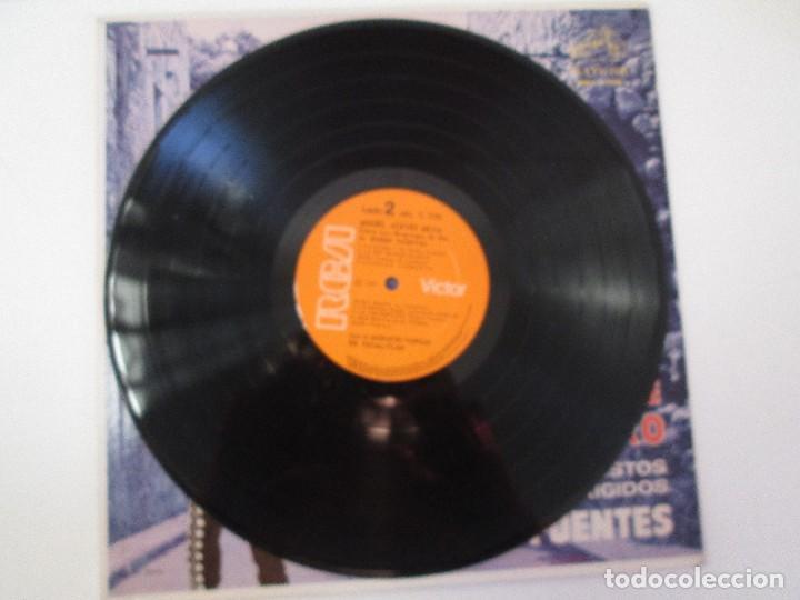 Discos de vinilo: MIGUEL ACEVES MEJIA. CANTA...LOS HUAPANGOS DE ORO. COMPUESTOS RUBEN FUENTES. LP VINILO 1966 - Foto 5 - 106644667