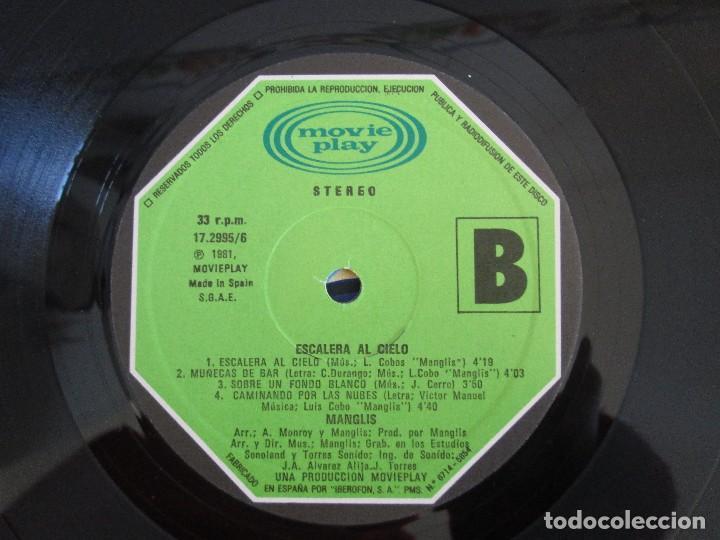 Discos de vinilo: MANGLIS. ESCALERA AL CIELO. LP VINILO. MOVIE PLAY. 1981. VER FOTOGRAFIAS ADJUNTAS - Foto 6 - 106645067
