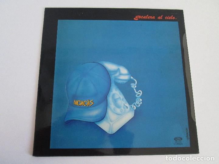 Discos de vinilo: MANGLIS. ESCALERA AL CIELO. LP VINILO. MOVIE PLAY. 1981. VER FOTOGRAFIAS ADJUNTAS - Foto 7 - 106645067
