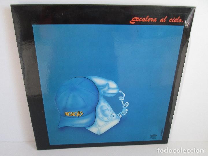 Discos de vinilo: MANGLIS. ESCALERA AL CIELO. LP VINILO. MOVIE PLAY. 1981. VER FOTOGRAFIAS ADJUNTAS - Foto 8 - 106645067