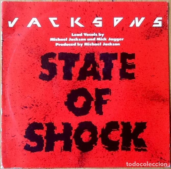 THE JACKSONS : STATE OF SHOCK [ESP 1984] 7' (Música - Discos - Singles Vinilo - Funk, Soul y Black Music)