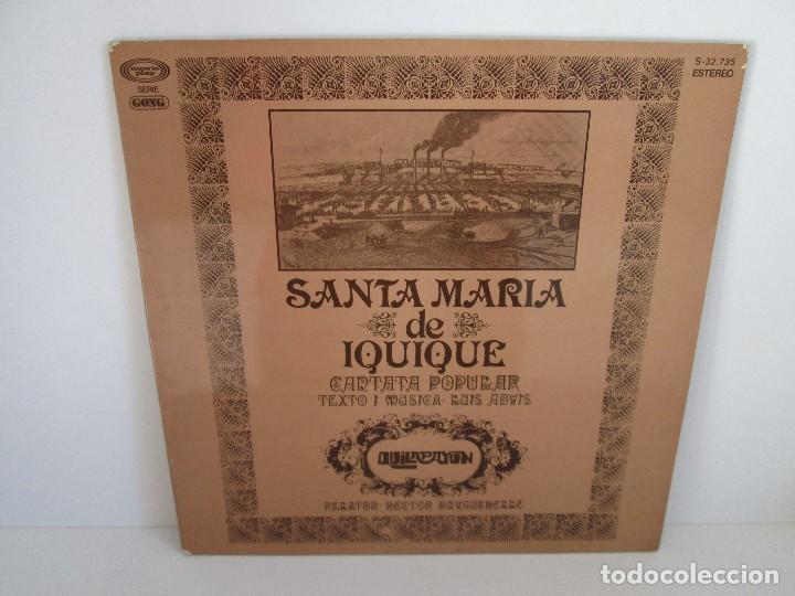 SANTA MARIA DE IQUIQUE. CANTATA POPULAR. LP VINILO MOVIE PLAY 1975. VER FOTOGRAFIAS ADJUNTAS (Música - Discos - Singles Vinilo - Étnicas y Músicas del Mundo)