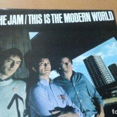 Discos de vinilo: THE JAM THIS IS THE MODERN WORLD LP SPAIN. Lote 106647647
