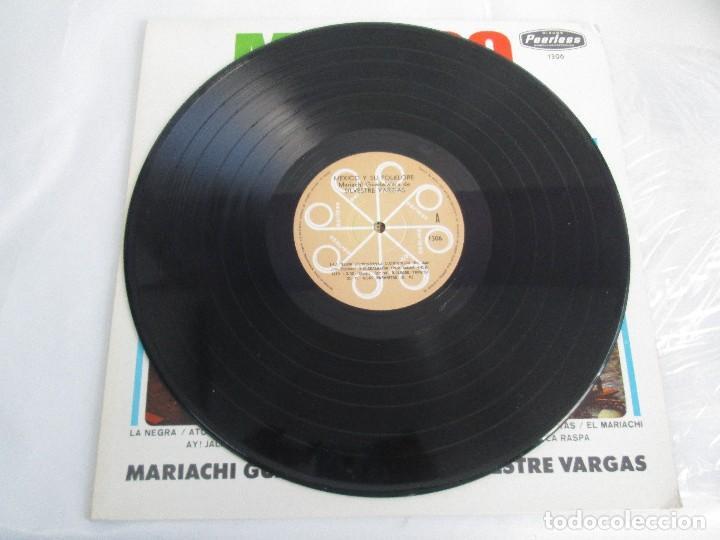 Discos de vinilo: MEXICO Y SU FOLKLORE. MARIACHI GUADALAJARA DE SILVESTRE VARGAS. LP VINILO. VER FOTOGRAFIAS - Foto 3 - 106649123