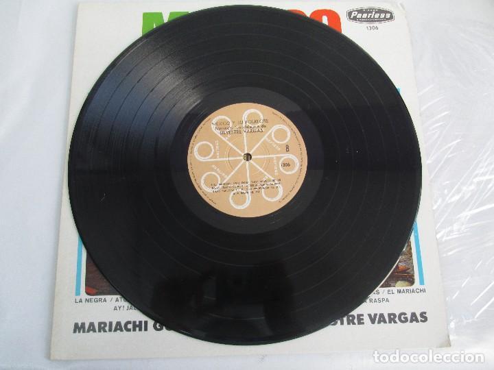 Discos de vinilo: MEXICO Y SU FOLKLORE. MARIACHI GUADALAJARA DE SILVESTRE VARGAS. LP VINILO. VER FOTOGRAFIAS - Foto 5 - 106649123