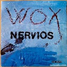 Discos de vinilo: WOX : ANY SONG [ESP 1982] 7'. Lote 106650131