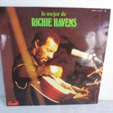Discos de vinilo: LO MEJOR DE RICHIE HAVENS. LP VIILO POLYDOR 1971. VER FOTOGRAFIAS ADJUNTAS. Lote 106651319