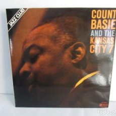 Discos de vinilo: COUNT BASIE AND THE KANSAS CITY 7. LP VINILO ABC IMPULSE 1978. VER FOTOGRAFIAS ADJUNTAS. Lote 106652051