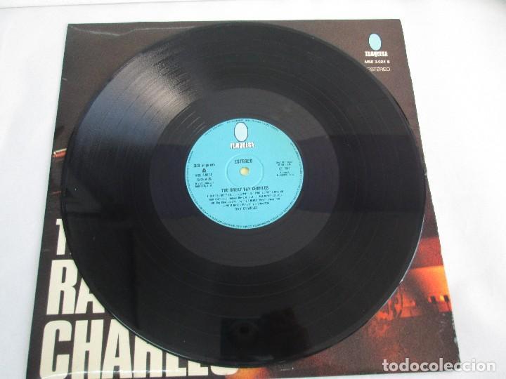Discos de vinilo: THE GREAT. RAY CHARLES. LP VINILO TURQUESA 1974. VER FOTOGRAFIAS ADJUNTAS - Foto 3 - 106652955