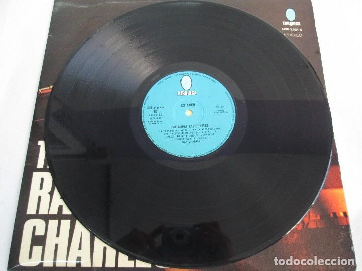 Discos de vinilo: THE GREAT. RAY CHARLES. LP VINILO TURQUESA 1974. VER FOTOGRAFIAS ADJUNTAS - Foto 5 - 106652955