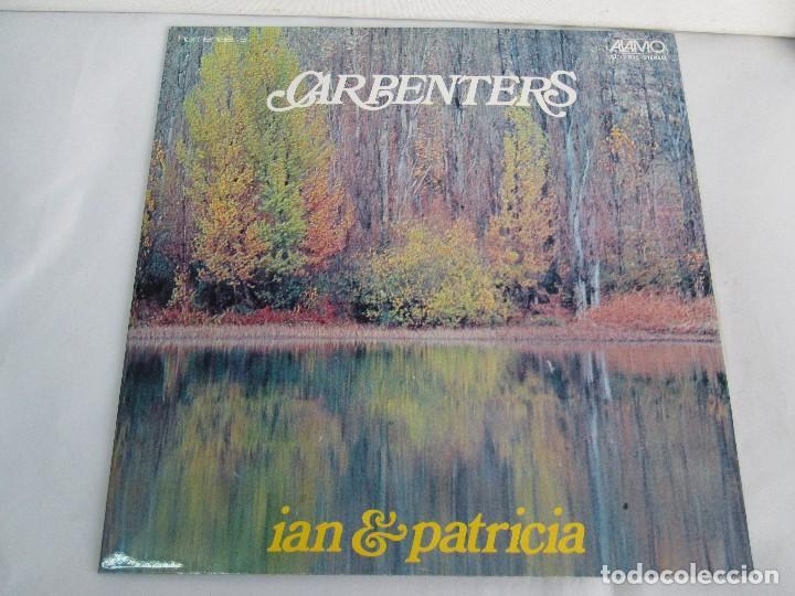 Discos de vinilo: HOMENAJE A CARBENTERS. IAN & PATRICIA. LP VINILO ALAMO 1974. VER FOTOGRAFIAS ADJUNTAS - Foto 2 - 106653615