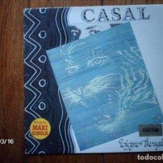 Discos de vinilo: CASAL - TIGRE BENGALI (VERSIÓN LARGA) + TIGRE BENGALI + ETIQUETA NEGRA. Lote 106667475