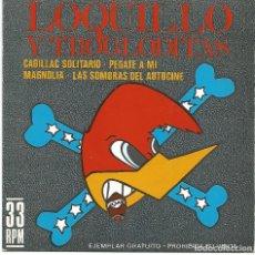 Discos de vinilo: LOQUILLO Y LOS TROGLODITAS - CADILLAC SOLITARIO + 3 (EP DE 4 CANCIONES) PROMO!! - EX/EX++. Lote 106680115