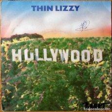 Discos de vinilo: THIN LIZZY : HOLLYWOOD [ESP 1982] 7'. Lote 106695443